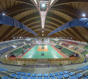 Palasport Andria interno