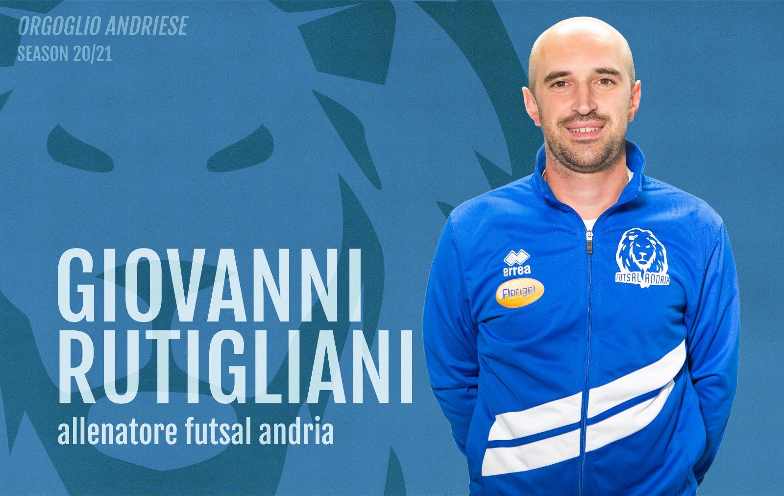 Giovanni Rutigliani è il nuovo tecnico della Florigel Futsal Andria